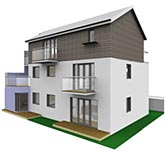 Exterior 3D perspective