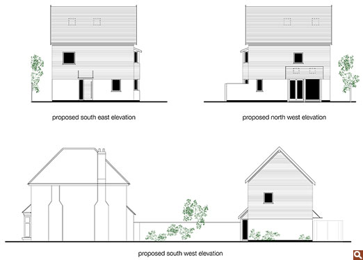 Proposed elevations for Project Choong-Moo.