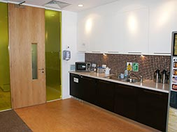 Kitchen and staff area, Ofsted
