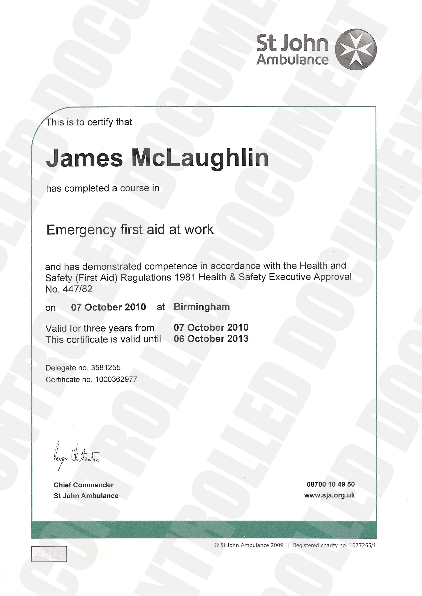Sonidolatinoradio  First Aid Certificate Template